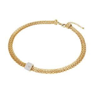 Dámský náhrdelník zlaté barvy Tassioni Esmeralda