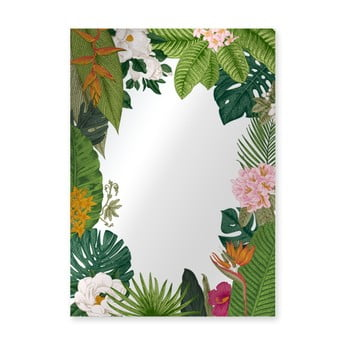 Oglindă de perete Surdic Espejo Decorado Tropical Frame, 50 x 70 cm