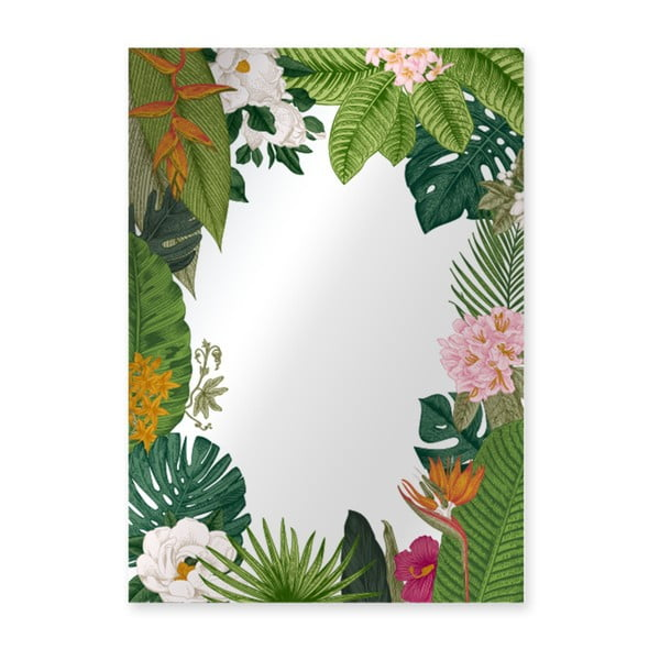 Oglindă Surdic Espejo Decorado Tropical Frame, 50 x 70 cm