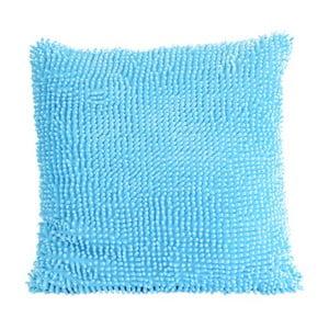 Střapatý polštář, světle modrý