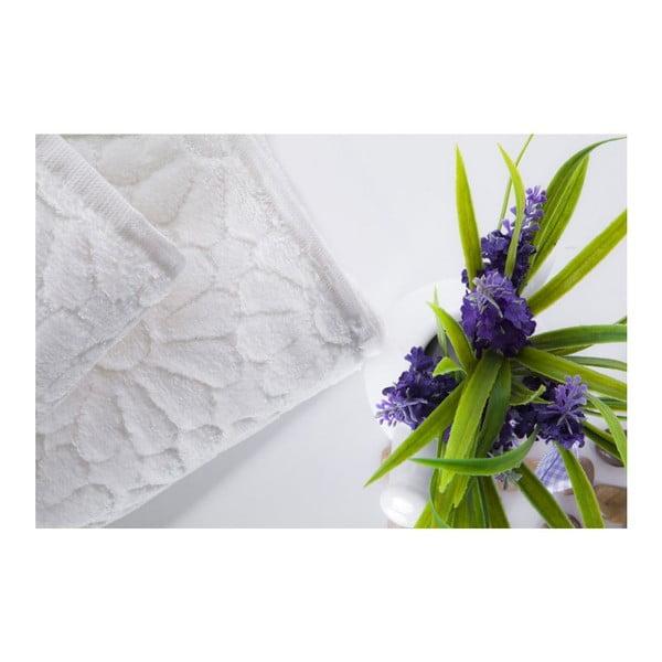 Sada 2 ručníků Samba Ecru, 70x140 cm a 50x90 cm