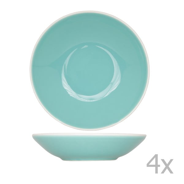 Sada 4 hlubokých talířů Chicago, 21 cm