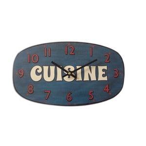 Nástrěnné hodiny Cuisine Bleu