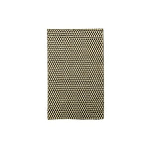 Ručně tkaný koberec Brown Geometry Kilim, 72x108 cm