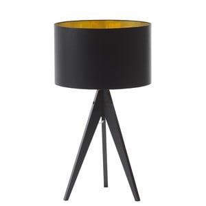Stolní lampa Artist Black Golden/Birch, 40x33 cm