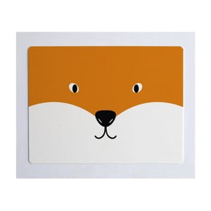 Podložka na stůl Little Nice Things Fox, 55 x 35 cm