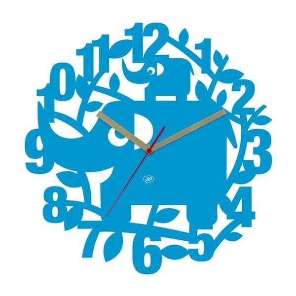 Nástěnné hodiny Ellie Elephant, 34 cm