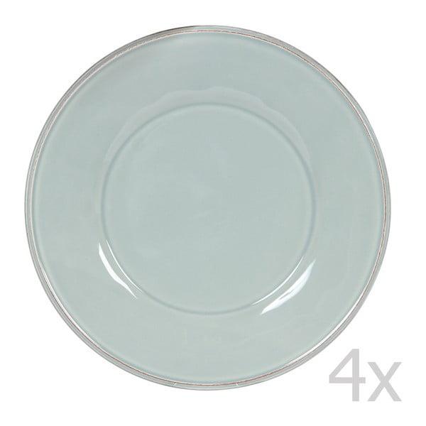 Sada 4 talířů Constance Sea Green, 28.5 cm