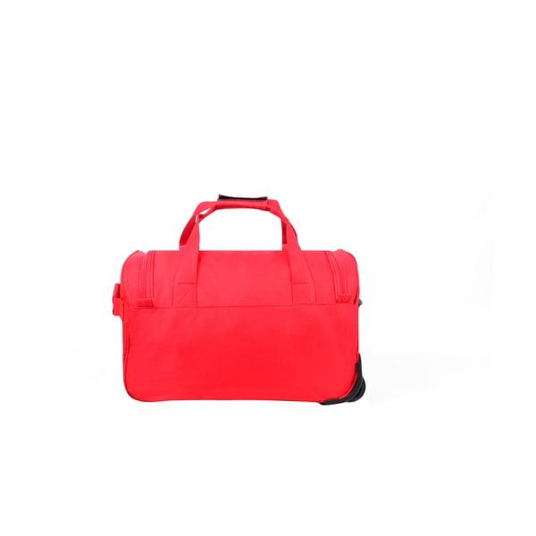 Cestovní taška na kolečkách Voyage Red, 112 l