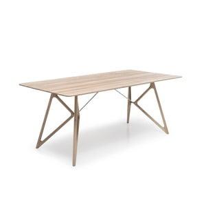 Dubový jídelní stůl Tink Oak Gazzda, 160cm, přírodní světlý