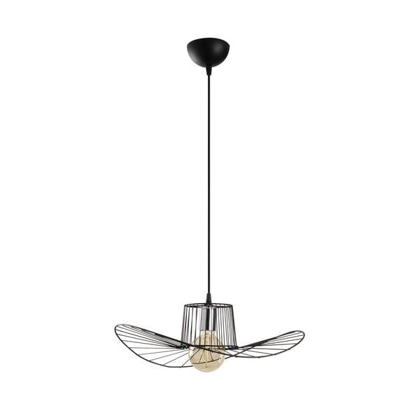Lustră Opviq lights Tel Hat, ø 50 cm, negru