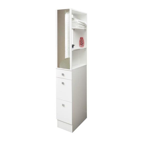 Bílá koupelnová skříňka TemaHome Combi,šířka24,3cm