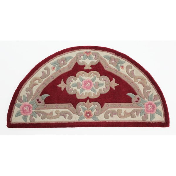 Aubusson Red gyapjúszőnyeg, 67 x 127 cm - Flair Rugs
