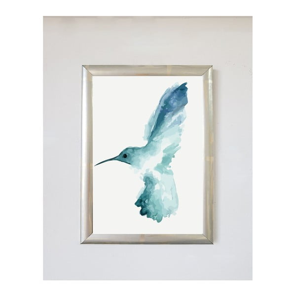 Plakát v rámu Piacenza Art Bird Left, 30x20cm