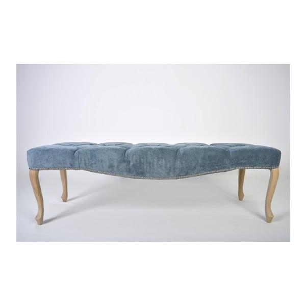 Modrá lavice Massive Home Maria