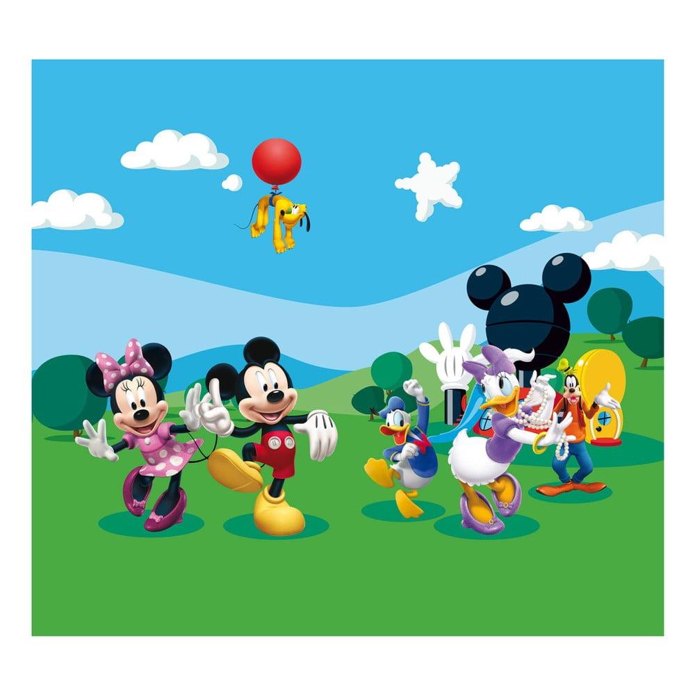 Foto závěs AG Design Mickey Mouse, 160 x 180 cm