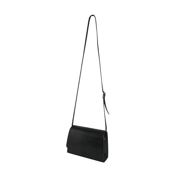 Kožená kabelka/psaníčko Boscollo Black 2946
