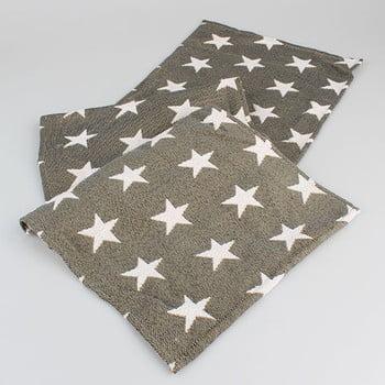Șervet masă cu steluțe Dakls, maro imagine