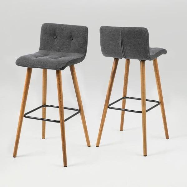 Barová židle Frida, holubí šedá