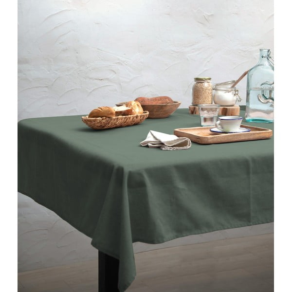Ubrus Linen Couture Light Green, 140 x 140 cm
