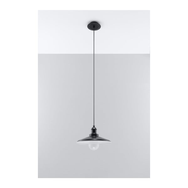 Černé stropní světlo Nice Lamps Isola Una