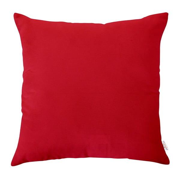 Červená obliečka na vankúš Apolena, 43×43 cm