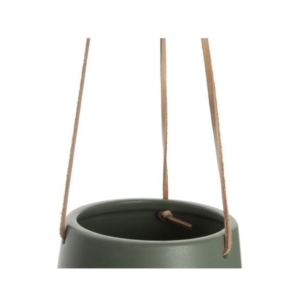 Ghiveci suspendat PT LIVING Skittle, diametru 13,5 cm, verde