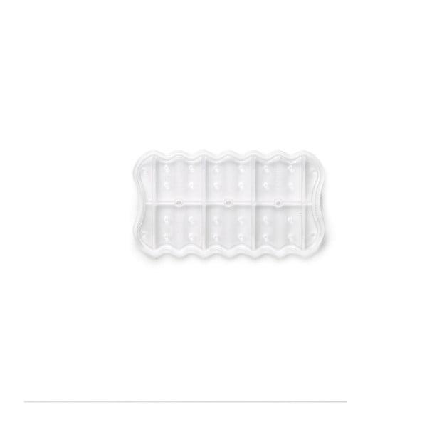 Bílý silikonový multifunkční tác Lékué