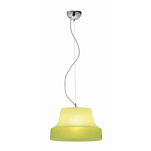 Závěsná lampa Gheisa, zelená
