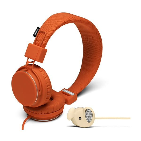 Sluchátka Plattan Rust + sluchátka Medis Cream ZDARMA