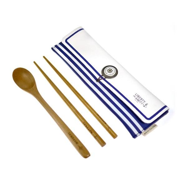 Sushi set Navy, modrý