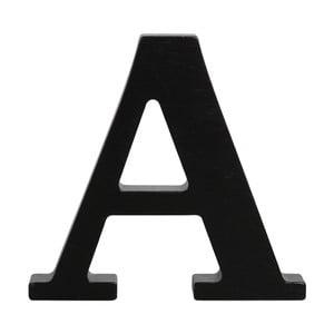 Černé dřevěné písmeno Typoland A