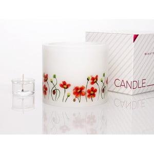 Kruhový svícen na čajovou svíčku Floral V
