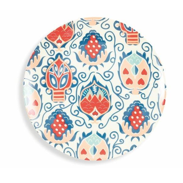 18dílná sada barevného nádobí z porcelánu a kameniny Villad'Este Mon Afrique