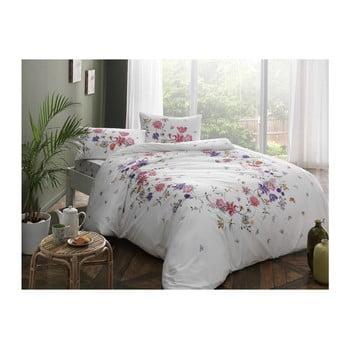 Lenjerie de pat din bumbac Madelyn V3 Pink, 160 x 220 cm de la Taç