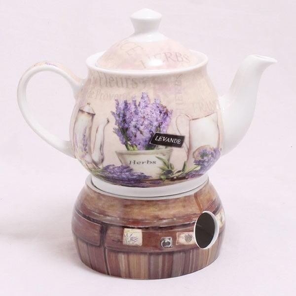 Konvice s ohřívačem Lavender Herbs
