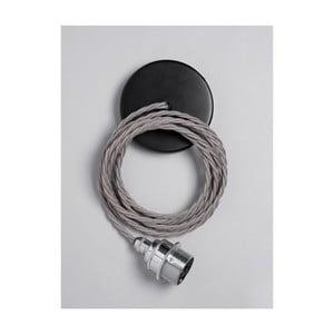 Závěsný kabel Chrome Elephant Grey
