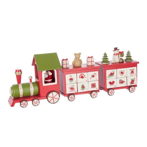 Adventní kalendář Red Train