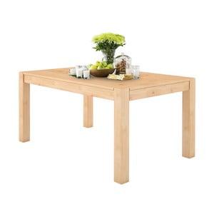 Jídelní stůl z masivního borovicového dřeva Støraa Monique, 76x140cm