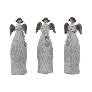 Sada 3 dekorativních andělů Ego Dekor Dalia, výška21cm