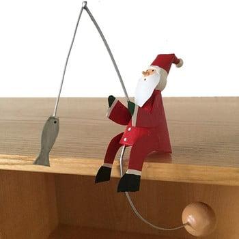 Decorațiune pentru Crăciun G-Bork Santa Balance imagine