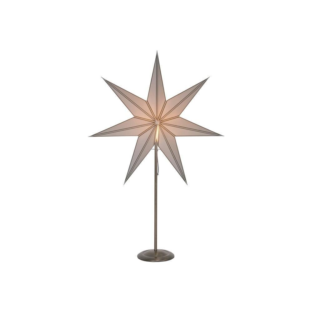 Krémová svítící hvězda Best Season Nicolas, 88 cm