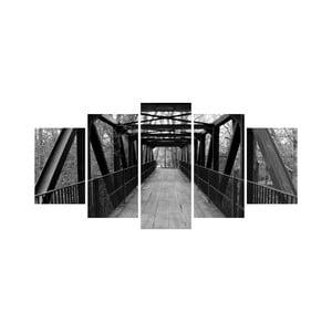 Vícedílný obraz Black&White no. 48, 100x50 cm