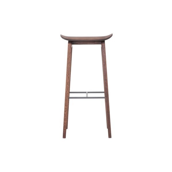 Barová židle NY11, tmavý ořech