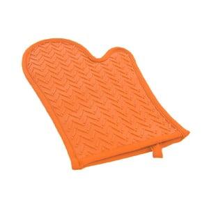 Oranžová silikonová rukavice Orion Orange, délka 30 cm
