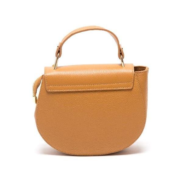 Kožená kabelka Roberta M 1092 Cognac