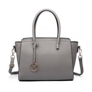 Šedá kabelka Miss Lulu Charlotte
