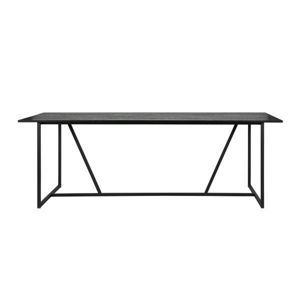 Jídelní stůl s deskou z dubového dřeva De Eekhoorn Silas, 90x220cm