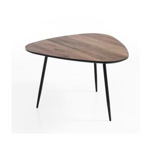 Hnědý odkládací stolek Tomasucci Jizaa