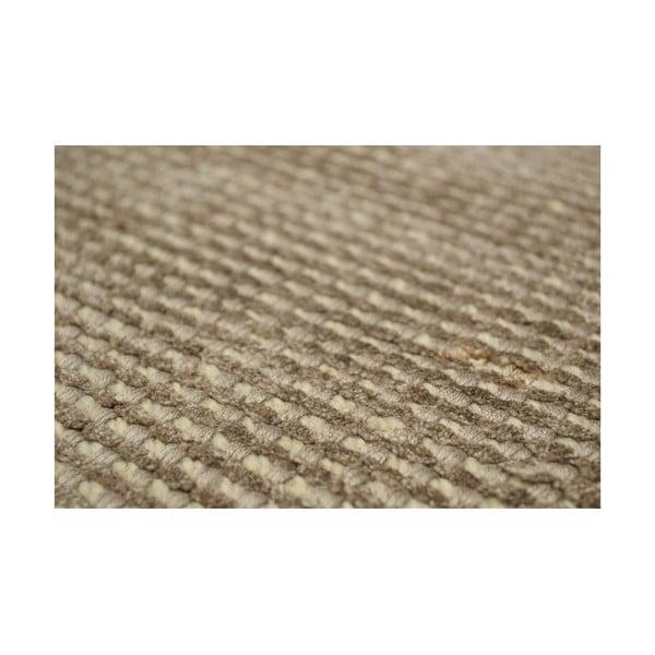 Vlněný koberec Spike, 160x230 cm, šampaň